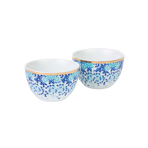 MIRRORS NUT BOWLS <br> SET OF 2