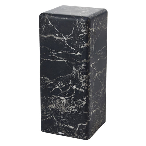 PILLAR MARBLE SIDE TABLE <br> (L 33 x W 33 x H 76.2) cm