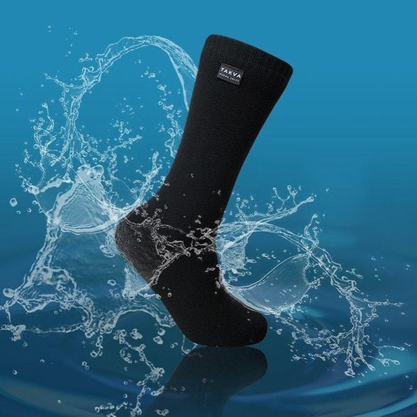 Wudhu Socks <br> Small <br> Black