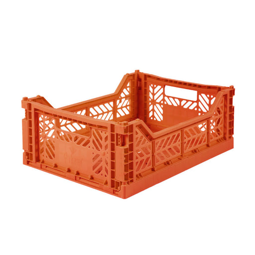 Folding Crate <br> Orange <br> (L 40 x W 30 x H 14) cm