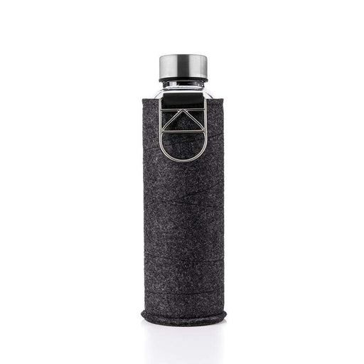 MISMATCH WATER BOTTLE <br> BLACK / SILVER