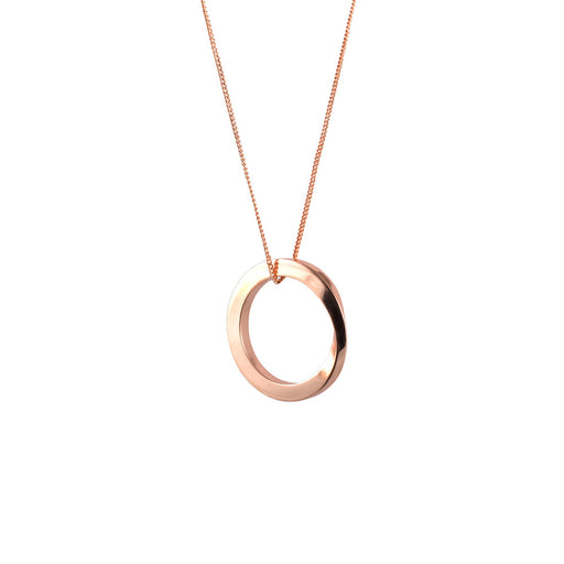 OROBORUS NECKLACE <br>Rose gold