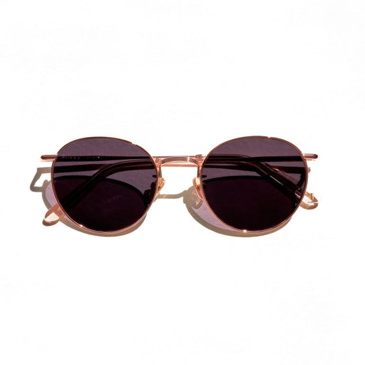 The Rochdale <br> Rose Gold Frame<br>Smoke Gradient Lenses