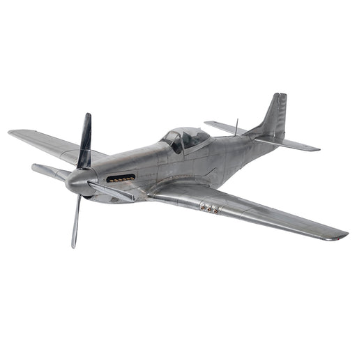 WWII MUSTANG <br> (W 66 x H 25) CM
