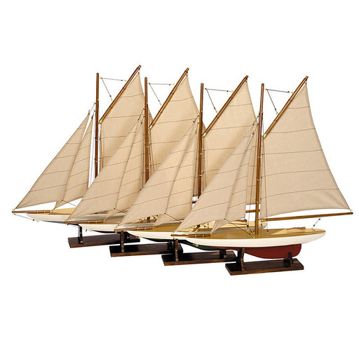 MINI POND YACHTS <br> SET OF 4