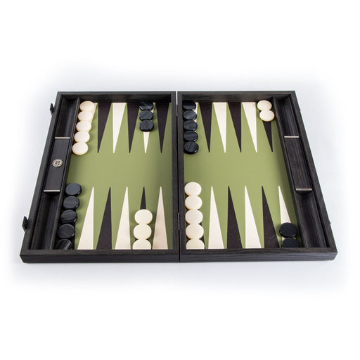 OLIVE GREEN<br>BACKGAMMON