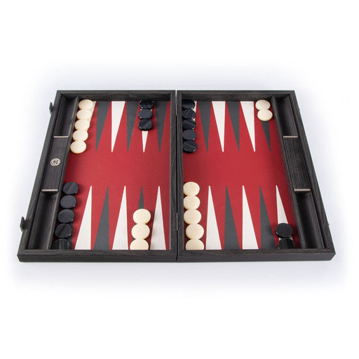 BURGUNDY RED <br> BACKGAMMON