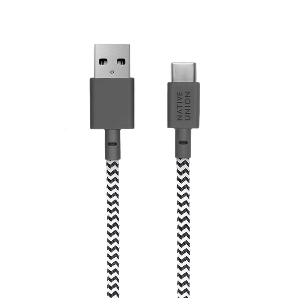 BELT CABLE <br> ZEBRA 1.2 M <br> USB-A to TYPE-C