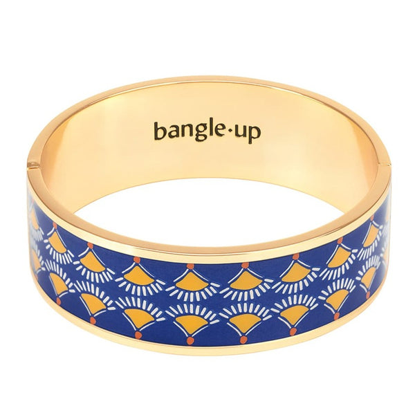 TRACY BRACELET <br> DELFT BLUE / SAFFRON YELLOW
