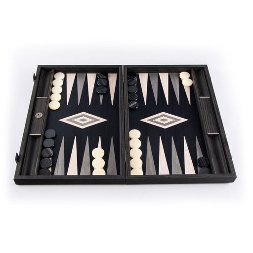 PEARLY GREY VAVONA<br>BACKGAMMON
