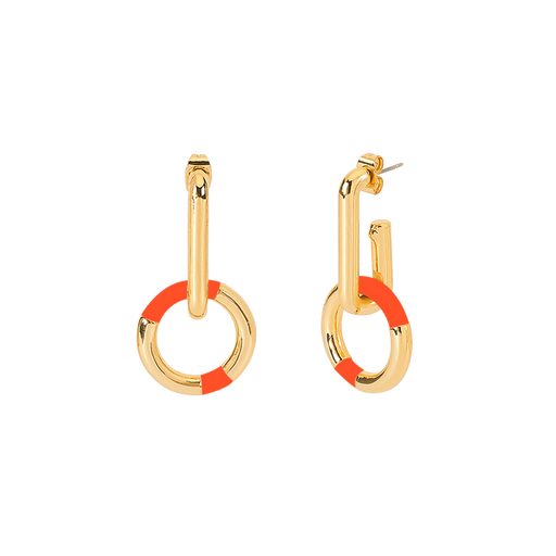 PRADO EARRINGS <br>TANGERINE