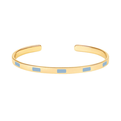 TEMPO THIN CUFF<br>ICE BLUE