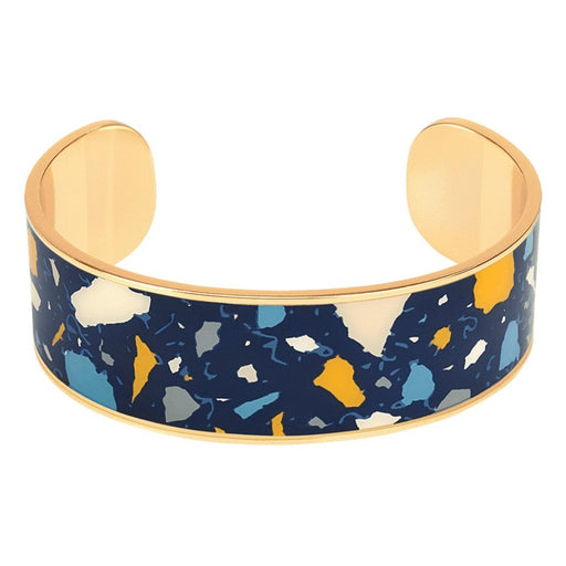 TERAZZO THIN CUFFS<br>MIDNIGHT BLUE
