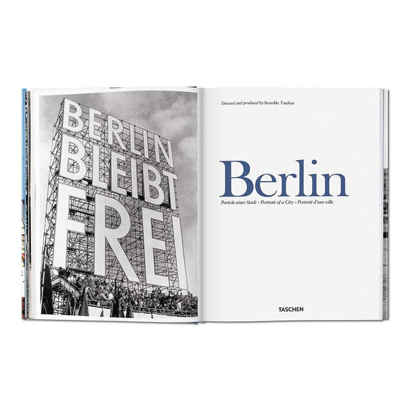 BERLIN<br> PORTRAIT OF A CITY