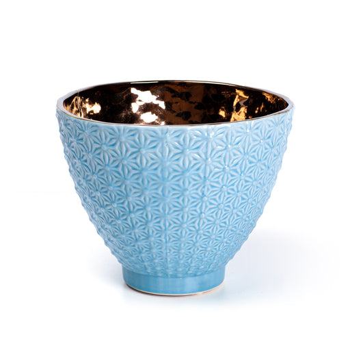 OVAL BOWL <br> TURQUOISE <br> (16.5 X 21) CM