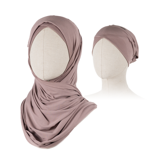 INFINITI BLUSH <br> SET OF HIJAB & SCARF