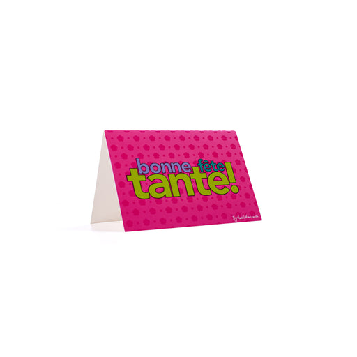 BONNE FETE TANTE <br>Greeting Card / Small