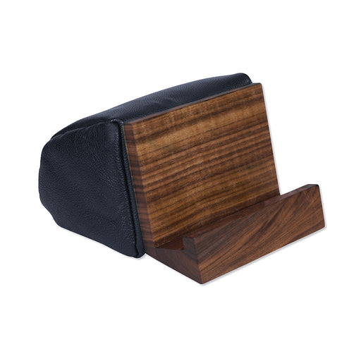 BOOK & TABLET STAND <br>BLACK WALNUT