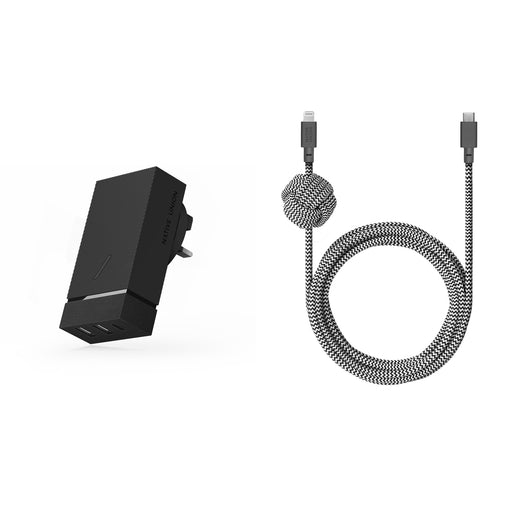 SMART + NIGHT CABLE (C TO LIGHTNING) <br> Set Of 2
