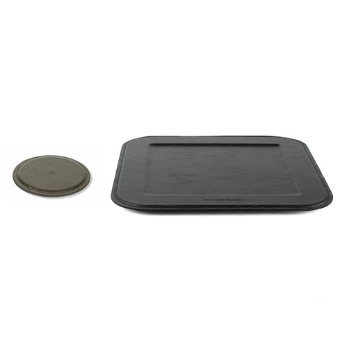 Coasters & Serving Tray Black