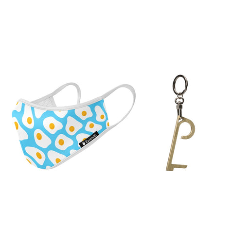 SUNNY SIDE FACE MASK & SAFE FINGER <Br> SET OF 2