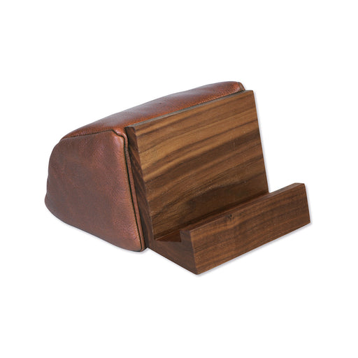 BEST BOOK & TABLET STAND <br>Brown Walnut