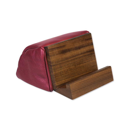 BEST BOOK & TABLET STAND <br>Ruby Red Walnut