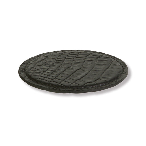 COASTERS<br> CROCO /  BLACK<br>set of 4
