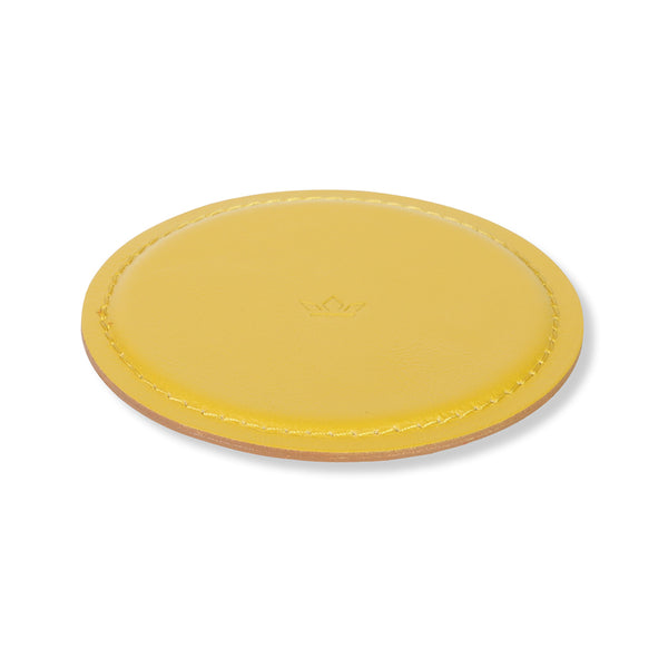 COASTERS <br>Yellow Ochre<br> set of 4
