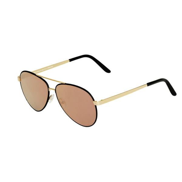 CHIARA  SUNGLASSES<br>BLACK GOLD