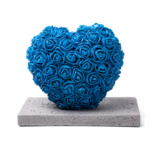 HEART ATTAR SCULPTURE <br>SKY BLUE