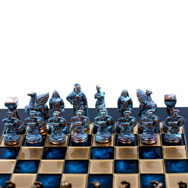 Chess Set <br> Spartan Warriors <br> (28 x 28) cm