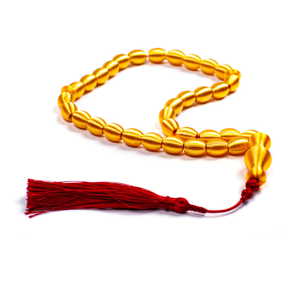 SUBHA <br> GOLDEN YELLOW <br> SHORT TASSEL
