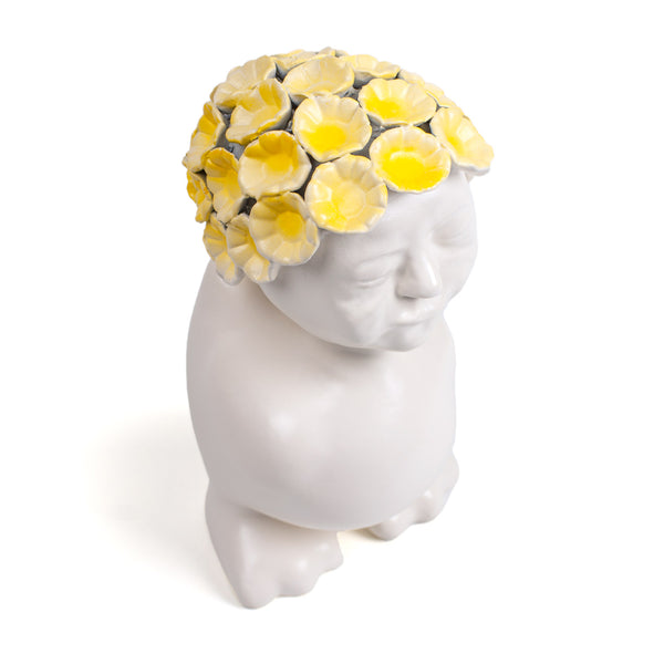 CANART VINTAGE FLOWERS <br> YELLOW