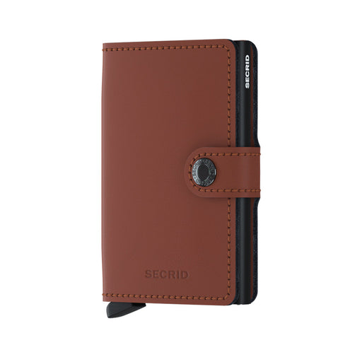 MINI WALLET MATTE <br>Brick Black