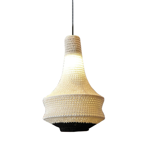 SMALL WHITE<br> JOOSH CROCHET LIGHT