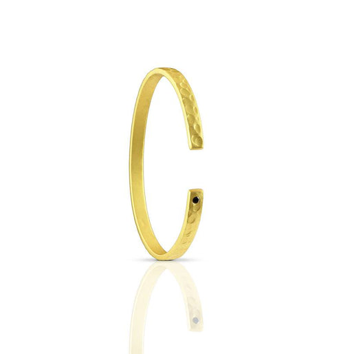 BLACK DIAMOND <br>GOLD BRACELET<BR>SMALL