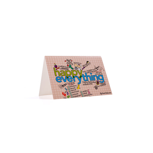 HAPPY EVERYTHING <br>Greeting Card / Small