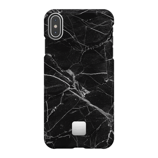 BLACK MARBLE<br>IPHONE CASE XS MAX