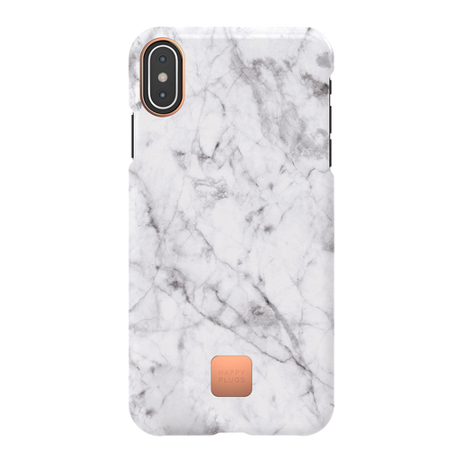 WHITE MARBLE<br> IPHONE CASE XS MAX