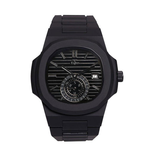 EIGHT KUWAIT <br> BLACK CHRONO