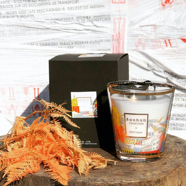 Cities Saint Tropez Candle<br> Rosemary, Mint, Blackcurrant<br> Limited Edition<br> (23 X 35) cm