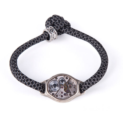 GREY LUX BRACELET <br> BLACK GREY