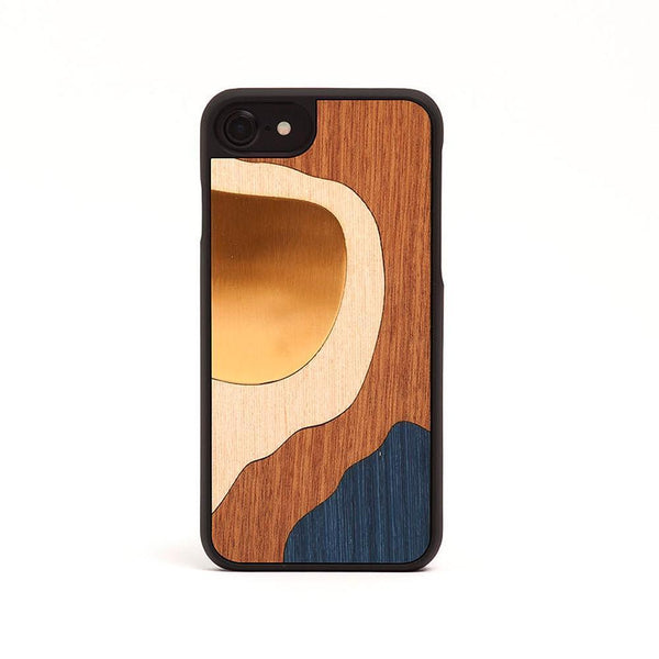 Bronze Cover <br> Blue <br> Iphone 7 / 8