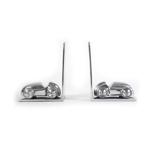 ALUMINUM CAR BOOKENDS