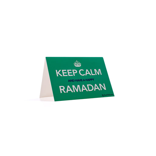 KEEP CALM AND HAVE A HAPPY RAMADAN <br>Greeting Card / Small