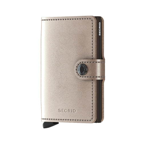 MINI WALLET <br> METALLIC