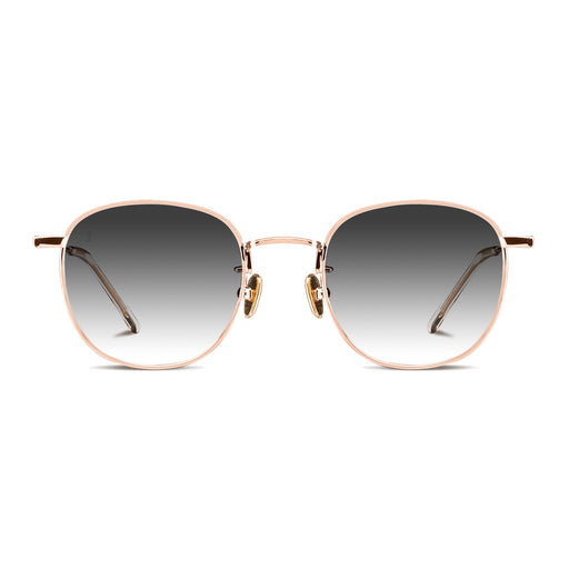 The Splash<br> Gold Frame<br>Smoke Gradient Lenses