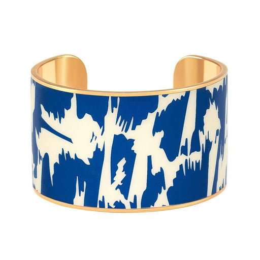 Joy Cuff <br> Ceramic Blue