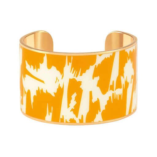 Joy Cuff <br> Saffron Yellow